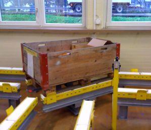 Модульный конвейер для транспортировки паллет 2