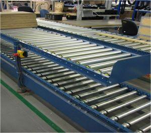 Роликовый конвейер для транспортировки паллет 4