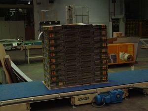 Модульный конвейер для транспортировки паллет 1