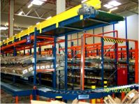 Гравитационные полки для хранения и подбора заказов