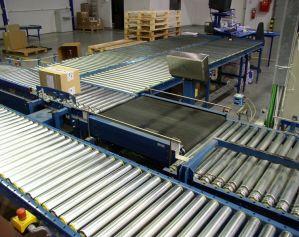 Роликовые конвейеры лоя транспортировки коробок 2