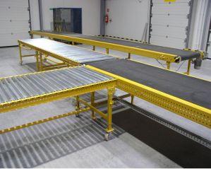 Интегрированные конвейеры (летна + ролики) для транспортировки коробок 1