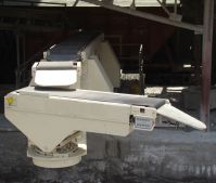 Телескопический ленточный конвейер для разгрузки и загрузки жд вагонов
