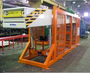 Телескопический конвейер для штучных грузов и коробок 1