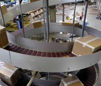 Модульные спиральные конвейеры для штучной продукции или коробок
