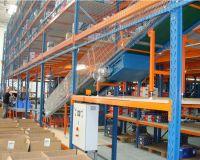 Ленточные и роликовые многоуровневые конвейеры для контейнеров и коробок