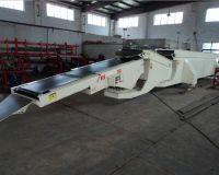 Ленточный телескопический конвейер для разгрузки и загрузки вагонов жд