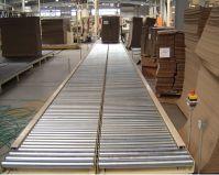 Роликовые конвейеры для транспортировки материалов из древисины
