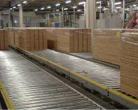Роликовые конвейеры, тележки-транспортеры и угловые трансферты для паркетной доски