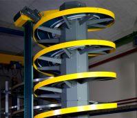 Спиральные конвейеры для транспортировки продукта без упаковки и в первичной упаковке