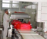 Ленточный конвейер для продуктов в упаковке
