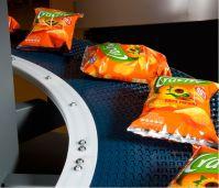 Модульные конвейеры для транспортировки продукта в упаковке