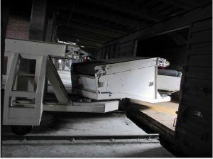 Конвейер телескопический для разгрузки, загрузки вагонов жд