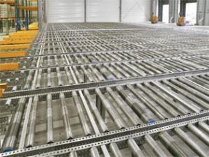 Рольганги для накопителей и конвейеров под паллеты и коробки